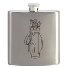 Golf Bag And Clubs Flask