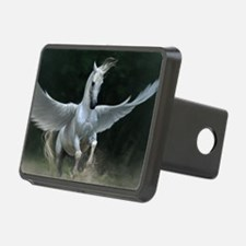 White Pegasus Hitch Cover