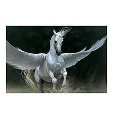 White Pegasus Postcards (Package of 8)