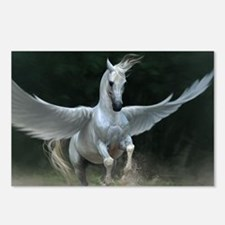 White Pegasus Postcards (Package of 8)