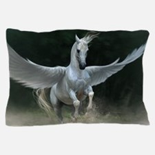 White Pegasus Pillow Case