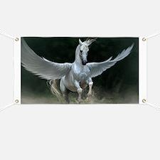White Pegasus Banner