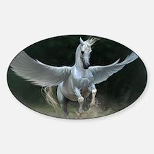 White Pegasus Decal