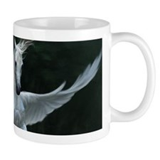 White Pegasus Mugs
