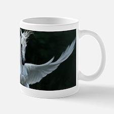 White Pegasus Mugs
