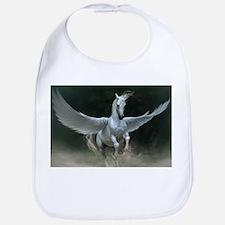 White Pegasus Bib