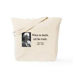 Mark Twain 24 Tote Bag