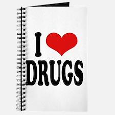I Love Drugs Journal