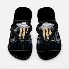 Greek Lyres Flip Flops