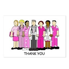 Thank you to breast cance Postcards (Package of 8)