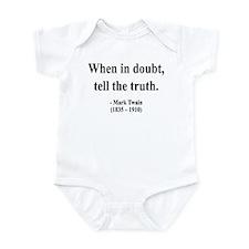 Mark Twain 24 Infant Bodysuit