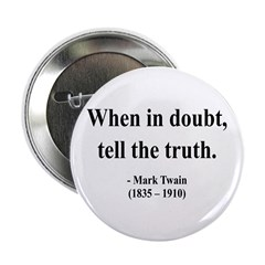 "Mark Twain 24 2.25"" Button (10 pack)"