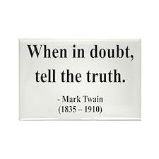 Mark Twain 24 Rectangle Magnet
