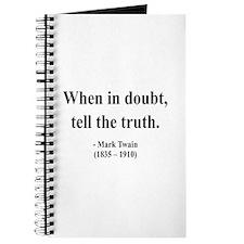 Mark Twain 24 Journal