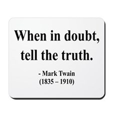 Mark Twain 24 Mousepad