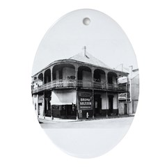 Casteix Pharmacy Oval Ornament