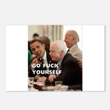 Obama & McCain GFY Postcards (Package of 8)