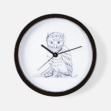 music-owl Wall Clock