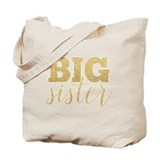 Big sister Canvas Totes