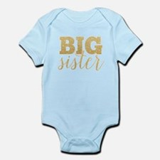 Glitter Big Sister Body Suit