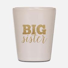 Glitter Big Sister Shot Glass