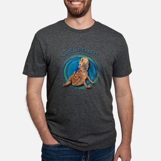 New BD Got Crickets 2 (black) T-Shirt