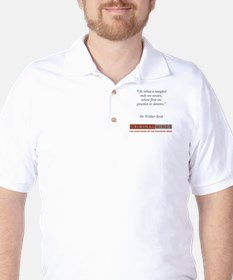 SIR WALTER SCOTT QUOTE Golf Shirt
