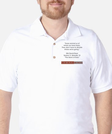 SSA ROSSI QUOTE Golf Shirt