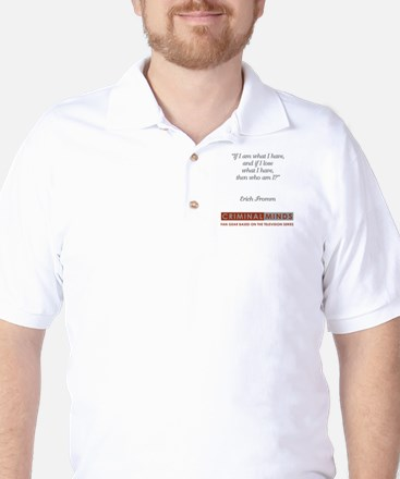 ERICH FROMME QUOTE Golf Shirt