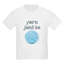 Yarn Junkie Kids T-Shirt