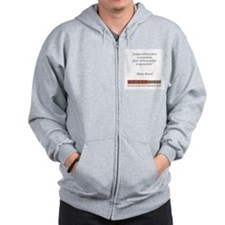 BLAISE PASCAL QUOTE Zip Hoodie