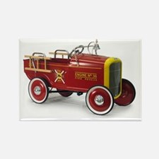 Unique Firefighter car Rectangle Magnet