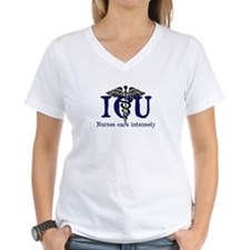 ICU Nurses care intensely T-Shirt