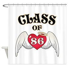 Class of '86 Shower Curtain