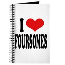 I Love Foursomes Journal