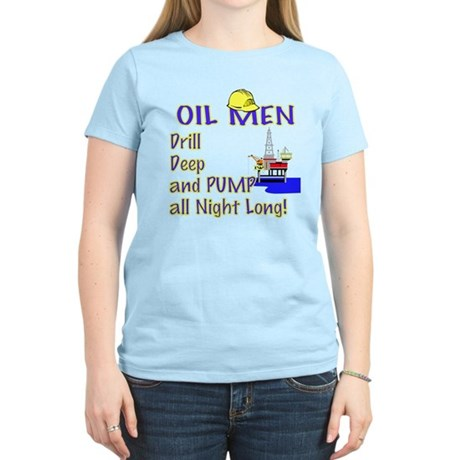 Oil Men Women's Light T-Shirt