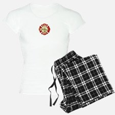 FD Symbol Red and Gold Pajamas