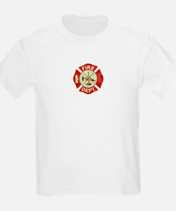 FD Symbol Red and Gold T-Shirt