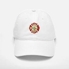 FD Symbol Red and Gold Baseball Baseball Cap