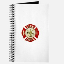 FD Symbol Red and Gold Journal