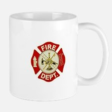 FD Symbol Red and Gold Mugs