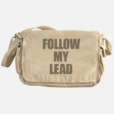 Follow My Lead Messenger Bag