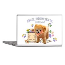Pomeranian Store The Cookie Laptop Skins