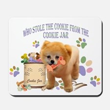 Pomeranian Store The Cookie Mousepad