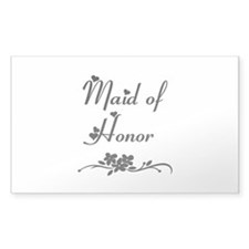 Classic Maid of Honor Decal