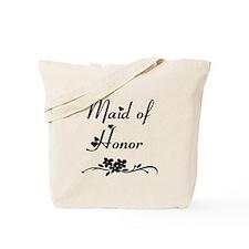 Classic Maid of Honor Tote Bag