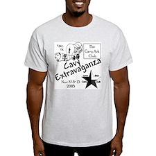 Cavy Extravaganza Ash Grey T-Shirt