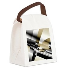 Cool Abstract art Canvas Lunch Bag