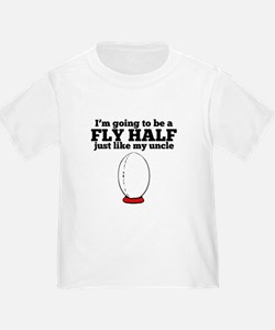 Fly Half Like My Uncle T-Shirt