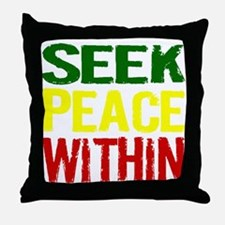 Seek Peace Within Throw Pillow